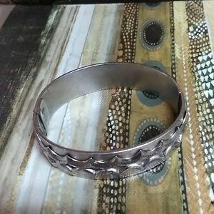 Silver Aluminum bangle bracelet